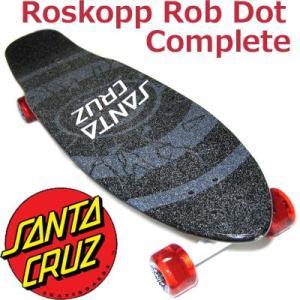 Santa Cruz Roskopp Rob Dot Complete 9.3 x 36-Inch (サンタクルズ クルーザー ロング スケートボード)|collc