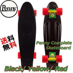 Penny ペニー スケートボード コンプリート 22インチ  カラーBlack/Yellow/Red|collc