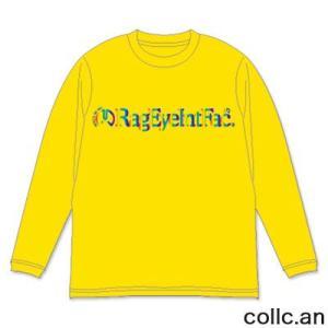 RAGE EYE INTERFACE レイジアイインターフェイス ロングTシャツ カラー:YELLOW collc