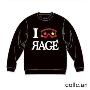 RAGE EYE INTERFACE レイジアイインターフェイス スエットトレーナー カラー:BLACK collc