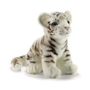 ハンサ【HANSA】ぬいぐるみ 子ホワイトタイガー19cm 好奇心旺盛な赤ちゃんタイガー|collecolle