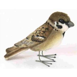 ハンサ【HANSA】ぬいぐるみ スズメ10cm すずめ 雀 小鳥|collecolle
