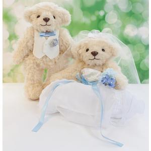 ウェディングベア 手作りキットマシェリベア ベージュ 型紙付き結婚祝い 贈り物 テディベア collecolle