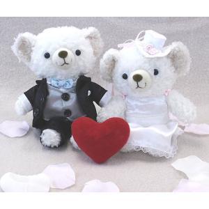 ウェルカムドール ウェディングベア COBE ウェディングセット タキシード 結婚祝い 贈り物|collecolle