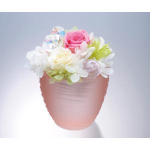 プリザーブドフラワー 夏のほっと一息「涼風」父の日 敬老の日 誕生日祝い 結婚祝い 贈り物 母の日|collecolle