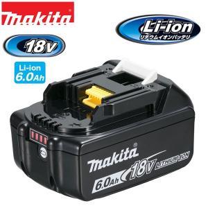 MAKITA・マキタ リチウムイオンバッテリ 18.0V 6.0Ah バッテリー残量表示付き BL1860B|collectas