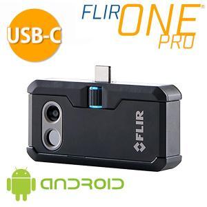 FLIR・フリア ONE PRO for ANDROID スマートフォン対応赤外線サーモグラフィ 435-0007-03|collectas