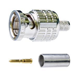 カナレ電気 CANARE 75ΩBNC型プラグ 圧着式 1個 BCP-A5F|collectas