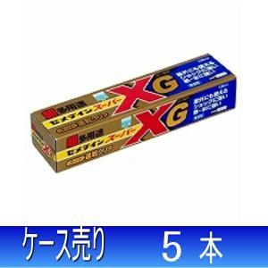 セメダイン 接着剤 超多用途 スーパーXゴールド 135ml まとめ買い 1箱5本 AX-015|collectas