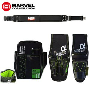 マーベル 腰道具4点セット グリーン MAT80BSETEAG|collectas