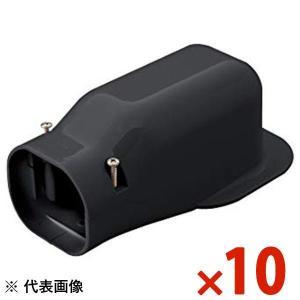 因幡電工/イナバ スリムダクト LD ウォールコーナー LDW-70-K/LDW70K ブラック 10個セット|collectas