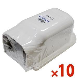 因幡電工/イナバ スリムダクト LD ウォールコーナー 後付用 LDWA-90-W/LDWA90W ホワイト 10個セット|collectas