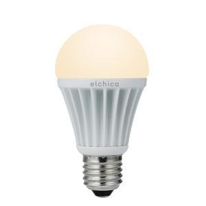 グリーンハウス elchica エルチカ LED電球 E26 40W相当/560ルーメン 電球色 GH-LB081L|collectas