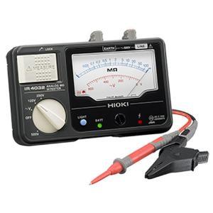 HIOKI・日置電機 メグオームハイテスタ スイッチ付リード付属 IR403211 collectas