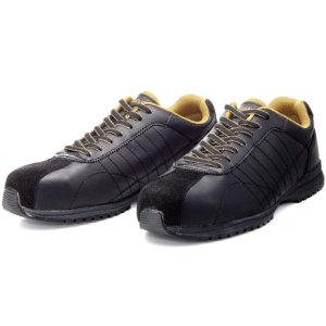 DONKEL・ドンケル 安全靴 ダイナスティグリップ ブラック 紐式 23.5 EEE DG-22 collectas
