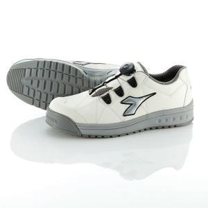 DIADORA/ディアドラ 安全靴 FINCH フィンチ WHT+SLV+WHT 25.0 FC-181|collectas