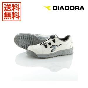DIADORA/ディアドラ 安全靴 FINCH フィンチ WHT+SLV+WHT 25.5 FC-181|collectas