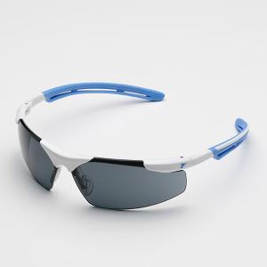 DIADORA・ディアドラ 保護メガネPHEASANTフェザント ホワイト・ブルー/スモーク PH-14S|collectas