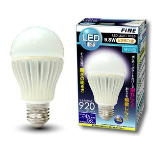 ALL-WAYS FiNE 高輝度LED電球 E26 9.8W 昼白色相当 FLED98N|collectas