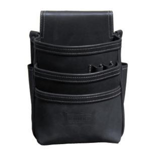 KNICKS/ニックス 総ヌメ革使用3段腰袋 KBS-301DD|collectas