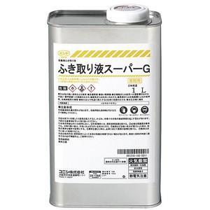 コニシ ふき取り液スーパーG 1L 缶 #05165|collectas