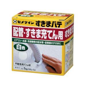 セメダイン すきまパテ 白 500g×2入 箱 HC-159 collectas