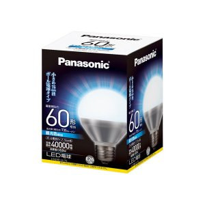 Panasonic・パナソニック LEDボール電球 昼光色 LDG9DH75|collectas