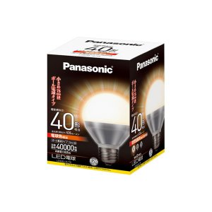 Panasonic・パナソニック LEDボール電球 電球色 LDG9LH75|collectas