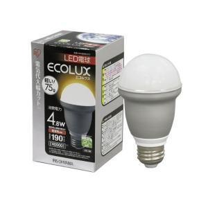 IRIS ecolux エコルクスLED電球 E26 4.8W 電球色 LED-A4L263 collectas
