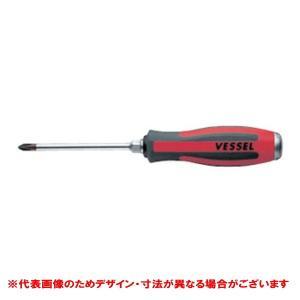 ベッセル/VESSEL メガドラ貫通ドライバー 930 +NO.2X150 9302150|collectas