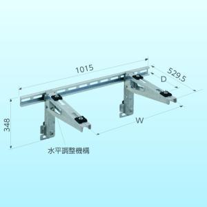 NISSEI・日晴金属 キャッチャー goシリーズ クーラーキャッチャー 溶融亜鉛メッキ仕上げ 壁面ブラケット PC-BJ30|collectas