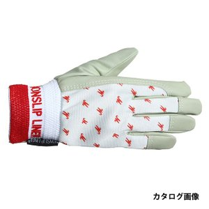 ペンギンエース ノンスリップ 甲メリ 手袋 PA-1452 白 M|collectas