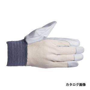 ペンギンエース 国産 床 革手袋 TH-407 甲メリ LL|collectas