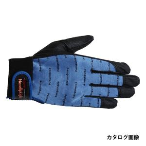 ペンギンエース ノンスリップライトPパターン 手袋 マジック PA-9243 青 L|collectas