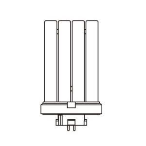 Jefcom・ジェフコム/DENSAN・デンサン インバーターフラットライト 交換ランプ FML20EX-D|collectas