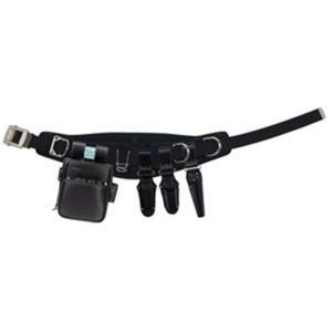 Jefcom・ジェフコム/DENSAN・デンサン ハイグレードレザー腰道具セット JNDSW-R300AB-SET|collectas