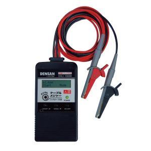 Jefcom・ジェフコム/DENSAN・デンサン デジタルケーブルメジャー シングルケーブル DMJ-1000R|collectas