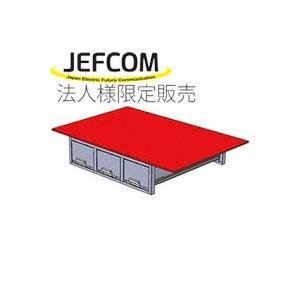 JEFCOM ジェフコム/DENSAN デンサン システムキャビネット 3列引き出し SCT-F04|collectas