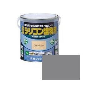 ロックペイント 水性シリコン建物用 1/5L ねずみいろ H11-1101|collectas