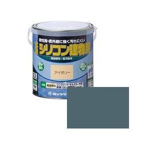 ロックペイント 水性シリコン建物用 1/5L ダークグレー H11-1150|collectas
