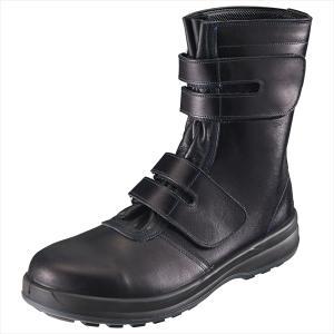 SIMON・シモン 安全靴 マジック式長靴 8538黒 27.5cm 1702990 collectas