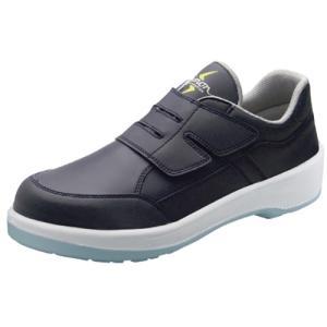 SIMON・シモン 安全靴 マジック式短靴 8818N紺静電靴 26.5cm 1126630 collectas