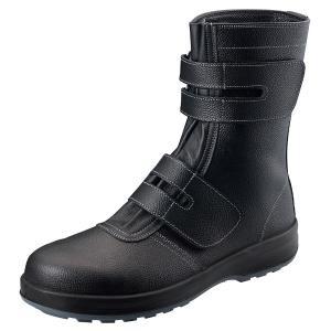 シモン 安全靴 マジック式長靴 SS38黒 26.0cm 1823560