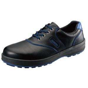 SIMON・シモン 安全靴 短靴 SL11-BL黒/ブルー28.0cm 1700220 collectas