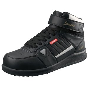 SIMON/シモン  プロテクティブスニーカー 編上靴 NS322ブラック 26.5cm 2312910|collectas