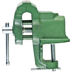 イチネンミツトモ ベンチバイス 卓上万力 75mm 鋳鉄製 37107|collectas