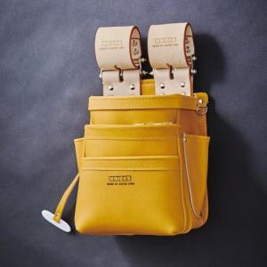 KNICKS/ニックス 自在型チェーンタイプ 総グローブ革3段腰袋 KN-301SPDX|collectas