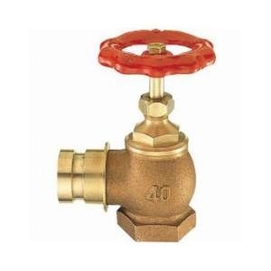 三栄水栓製作所/SANEI 差込90°消火栓 呼び:40 V19-40|collectas