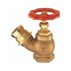 三栄水栓製作所/SANEI 差込45°消火栓 呼び:40 V18-40|collectas