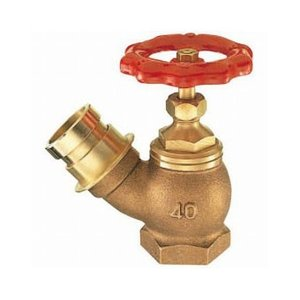 三栄水栓製作所/SANEI 差込45°消火栓 呼び:65 V18-65|collectas